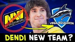 DENDI leaving NAVI for new team? Standin mid in Vega