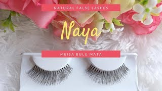 Meisa Bulu Mata Palsu Fake Lashes False Eyelashes tipe Naya