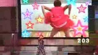 Yamapi as a cow, Koyama as a cheerleader, Uchi crazy dance