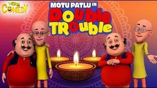 Motu Patlu | Double Trouble Movie | Cartoon In Hindi | Diwali 2018