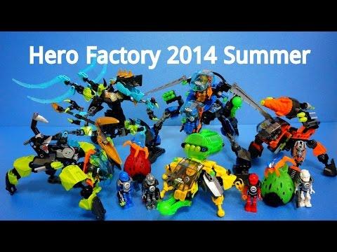 Vidéo LEGO Hero Factory 44029 : Queen Beast contre Furno, Evo et Stormer
