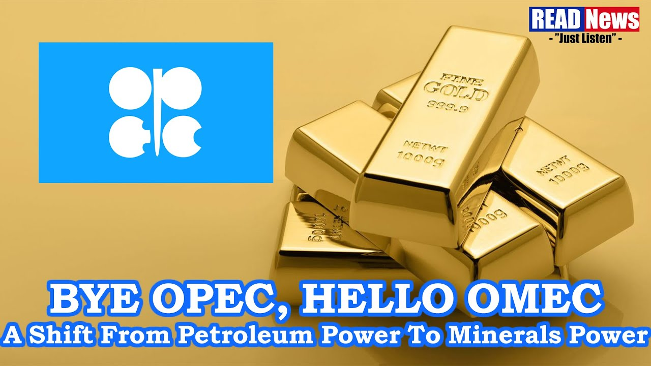 A Shift From Petroleum Power To Minerals Power