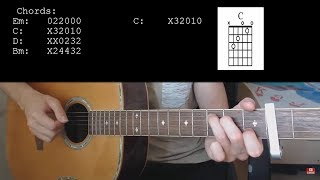 TONES AND I – DANCE MONKEY EASY Guitar Tutorial With Chords  Lyrics