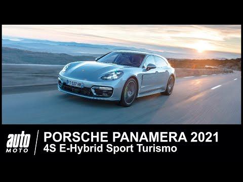 2021 Porsche Panamera 4S E-Hybrid Sport Turismo ESSAI POV Auto-Moto.com