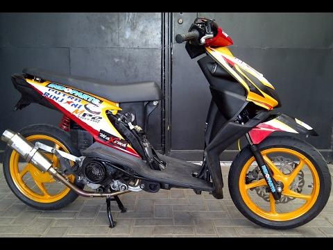 Video Cah Gagah | Video Modifikasi Motor Honda Beat Road Race Keren Terbaru