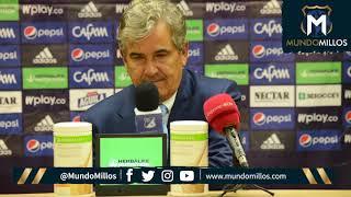 Rueda De Prensa Millonarios 1-2 Tolima (17/04/2019)