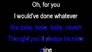 Justin Bieber Baby Instrumental With Lyrics By Diluka Perera [HQ]