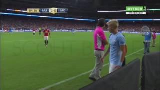 Действия Александра Зинченко в матче с Манчестер Юнайтед