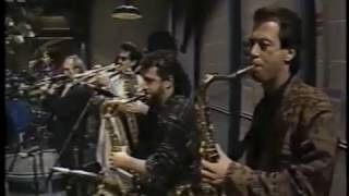 Tower of Power Horns on Late Night, November 11, 1987