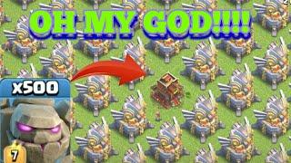 Golem Vs Max Eagle Artillery| | Coc Hack | | Private Server| | Coc Glitch