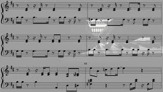 동물의숲 - 나비보벳따우 / Animal Crossing - K.K.Haus - piano cover+sheet music
