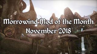 Morrowind Mod of the Month - November 2018