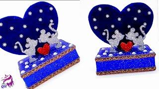 DIY handmade gift for lover | Woolen gift craft | DIY gifts |Queen's home