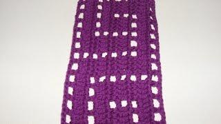 Греческий узор крючком. Greek crochet pattern