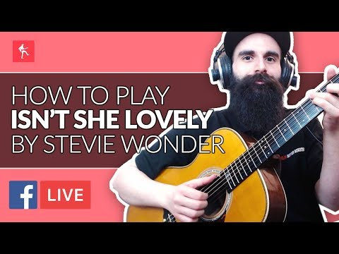 How To Play Isn't She Lovely By Stevie Wonder - Acoustic Guitar Lesson - Your Guitar Academy