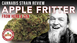 Herb & Zen |  Apple Fritter Strain Review | 31.025% THC! by Red Bench Reviews
