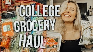 College Grocery Haul | Easy Healthy Meals