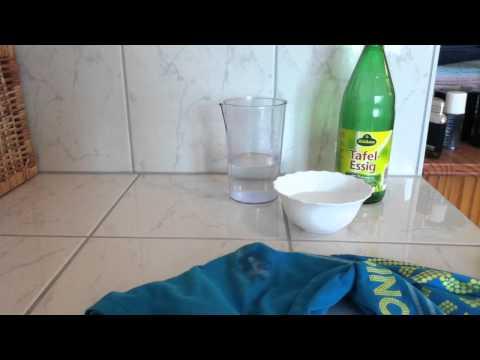 Deoflecken entfernen - Fleckenentfernung