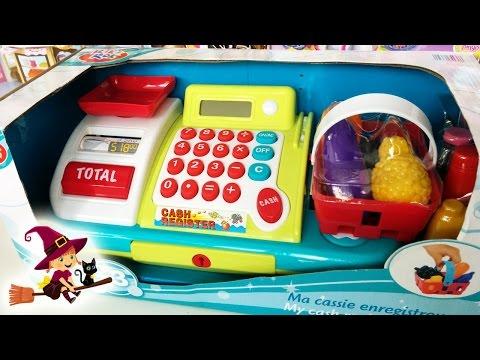 Juguetes de Supermercado | Caja Registradora de juguetes para niñas