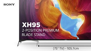 YouTube Video Q0z7QRCx_Gs for Product Sony XH95 (X950H) 4K Full Array LED TV by Company Sony Electronics in Industry Televisions