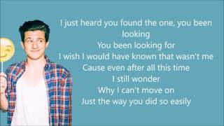 We Don't Talk Anymore   Charlie Puth (Ft. Selena Gomez) (Lyrics)