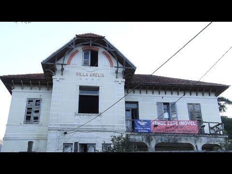 Qual é a situação atual do Casarão da Vila Amélia em Nova Friburgo?