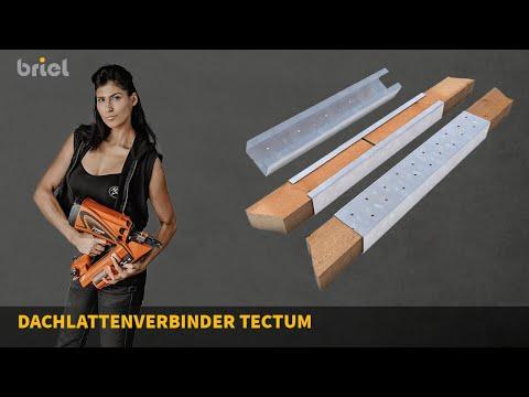 Dachlatten anbringen mit Tectum Dachlattenverbinder - so geht es schneller, sicherer und sauberer