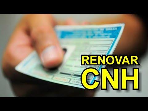 Renovar CNH - Como Fazer e Valores
