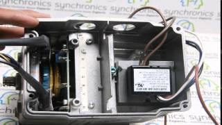 HONEYWELL - Modutrol IV Motor M9484F1007 Repaired at Synchronics Electronics Pvt. Ltd.