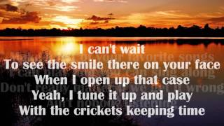 Darius Rucker - You, Me & My Guitar (lyrics)