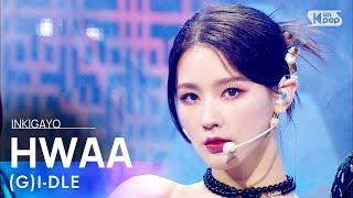 (G)I-DLE((여자)아이들) - INTRO + HWAA(화(火花)) @인기가요 inkigayo 20210117