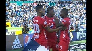 Millonarios Vs. América (1-2) | Liga Aguila 2019-1 | Cuadrangulares Fecha 6