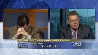 """Oh God, it's Mom."" (C-SPAN)"