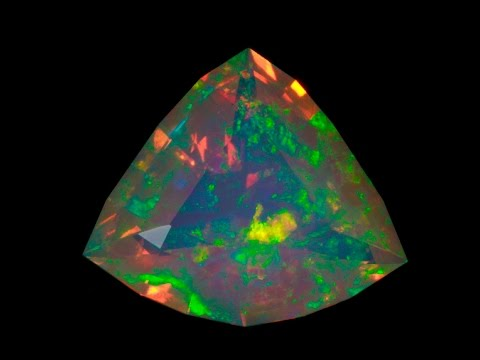 Faceted Welo Opal