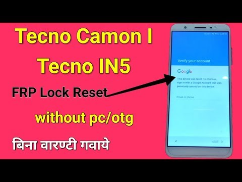 Download Tecno Canom Ca8 Google Account Lock Video 3GP Mp4 FLV HD