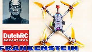Floss 3.0 Frankenstein Drone - Base Line Test (behind the scenes video)