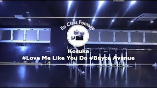 "Kosuke""Love Me Like You Do / Boyce Avenue""@En Dance Studio SHIBUYA SCRAMBLE"