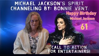 Michael Jackson - 61st Birthday message to MJ fans all over the world.