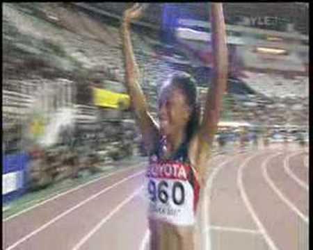 Allyson Felix - Osaka 2007 200m Final