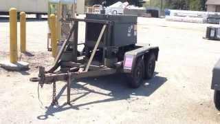 Miller Electric BIG50 Diesel Welding Arc Machine DED Trailer on GovLiquidation.com