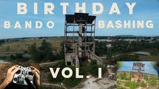 Birthday Bando Bashing Vol.I || FPV Freestyle stickcam&dvr