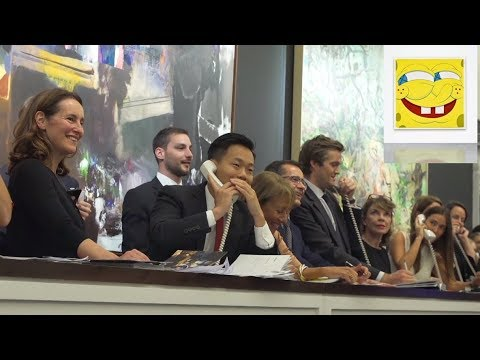 SpongeBob painting goes for 1.03 million Euros