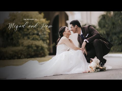 Miguel Montelibano and Pamela Carunungan's Wedding