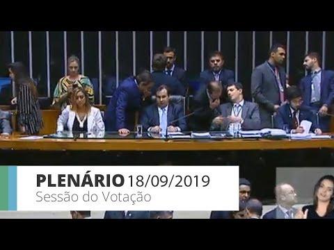 Plenário - PL 5029/2019 - modifica lei dos partidos e regras eleitorais - 18/09/2019 - 20:42
