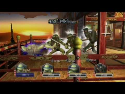 teenage mutant ninja turtles smash up wii iso