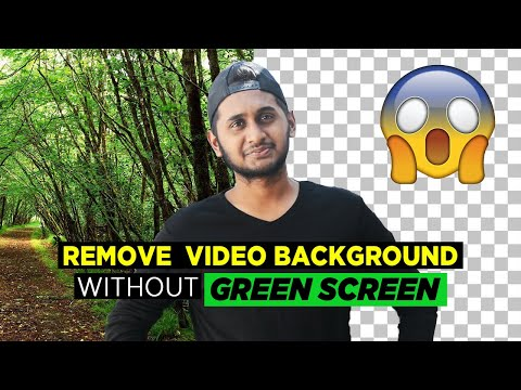 Remove Video Background without GREEN SCREEN || बिना Green Screen के विडीयो का Background Change करे
