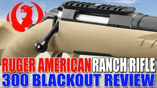 Gun Review: Ruger American Ranch Rifle 300 Blackout - Best bang for your buck
