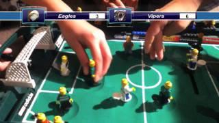 Lego Soccer Season 3 Match 1 Eagles vs Vipers