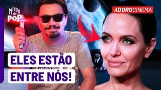 Angelina Jolie é Um Alien Disfarçado? - Mitos Do Pop - Ep09