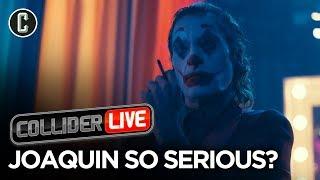 The Joker Final Trailer Discussion, Alexandra Daddario And Tyler Hoechlin In Studio - Collider Live